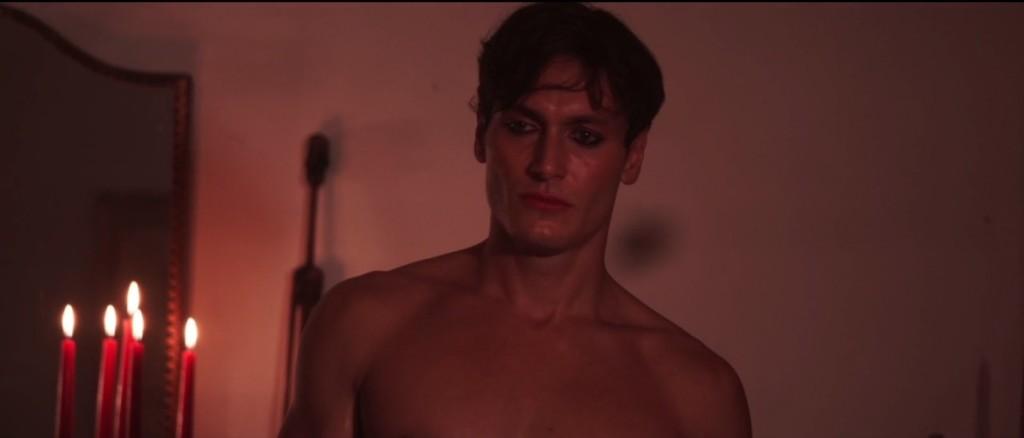 Venere è un ragazzo, Tiziano Mariani in una scena del film di Giuseppe Sciarra