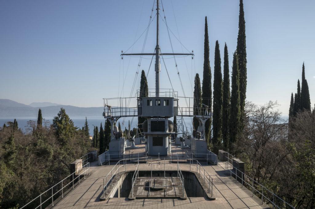Il Vittoriale degli Italiani, la prora della Nave Puglia