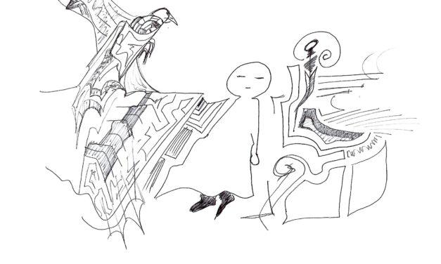 Tre disegni dell'Anonimo. artista sconosciuto dal tratto enigmatico