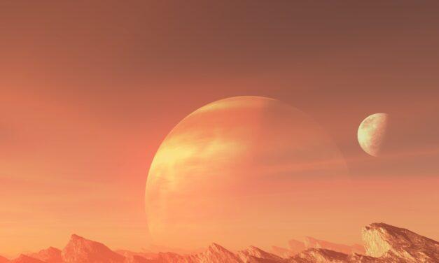 Luna arancione