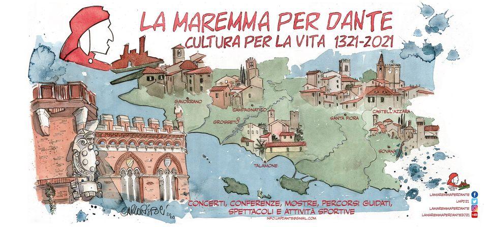 La Maremma per Dante, Cultura per la Vita 1321-2021