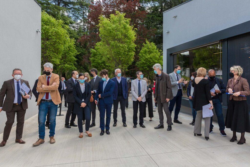 Inaugurazione BUM Biblioteca Università Mesiano - 5 maggio (©UniTrento Foto Pieluigi Cattani Faggion)